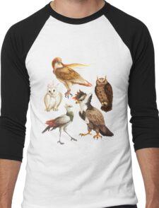 PokéBirds of Prey I Men's Baseball ¾ T-Shirt