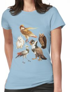 PokéBirds of Prey I Womens Fitted T-Shirt