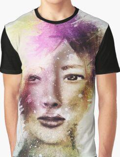 Galaxy Girl 3 Graphic T-Shirt