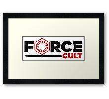 Force Cult Framed Print