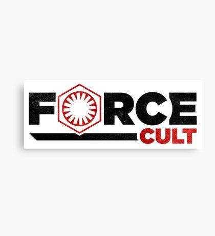 Force Cult Canvas Print