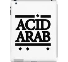 Acid Arab Black iPad Case/Skin