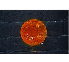 Orange  Photographic Print