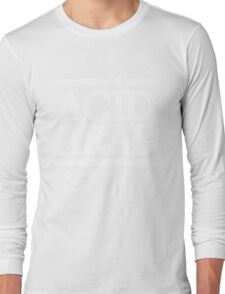Acid Arab White Long Sleeve T-Shirt