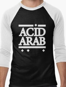 Acid Arab White Men's Baseball ¾ T-Shirt