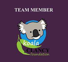 Koala Clancy Foundation Team Member Unisex T-Shirt