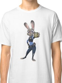 "Zootopia - Judy Hopps ""I m a police officer!"" Classic T-Shirt"