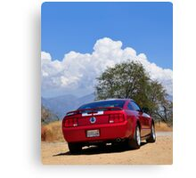 More Motoring Canvas Print