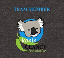 Koala Clancy Foundation Team Member - blue text Hoodie