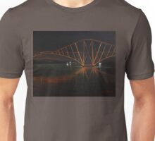 """The Rail Bridge"" (Image of an Oil Painting) Unisex T-Shirt"