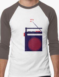 Funky Little Radio Men's Baseball ¾ T-Shirt