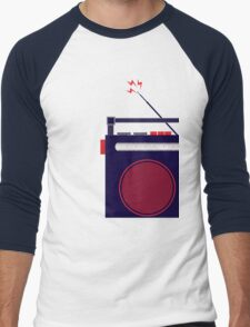 Funky Little Radio Men's Baseball ¾ T-Shirt