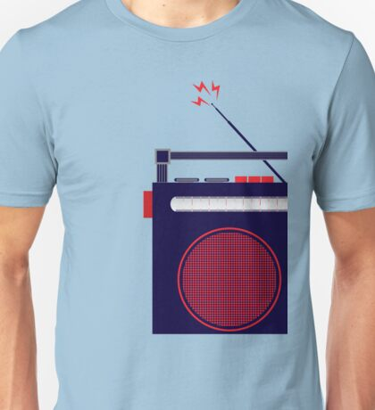 Funky Little Radio Unisex T-Shirt