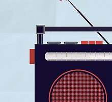 Funky Little Radio by modernistdesign