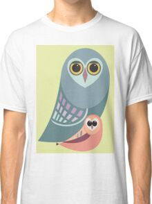 BIG OWL & ITTY BITTY OWL Classic T-Shirt