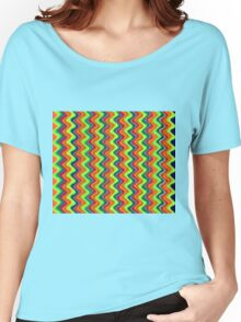 Psychedelic Waves  Women's Relaxed Fit T-Shirt
