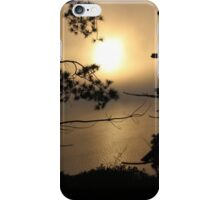 Pine, Water, Fog and a Sunrise...... iPhone Case/Skin