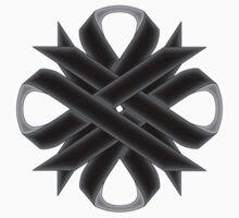 Black Clover Ribbon One Piece - Short Sleeve
