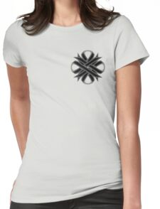 Black Clover Ribbon Womens Fitted T-Shirt