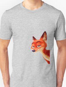 Zootopia - Nick Wilde (smiling face) Unisex T-Shirt