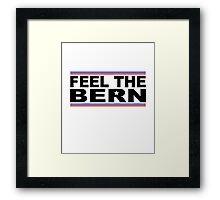 Feel The Bern - Presidential Framed Print