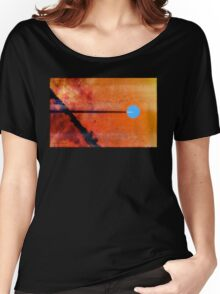 Goodbye Blue Sky by Jay Taylor Women's Relaxed Fit T-Shirt