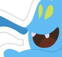 Blue Twirler Sticker