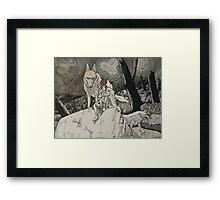 Forest Mononoke Framed Print