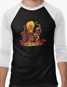 We Are Not Alone Men's Baseball ¾ T-Shirt