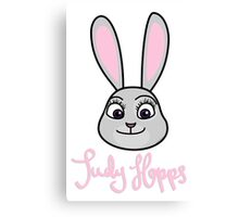 Judy Hopps Canvas Print