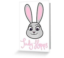 Judy Hopps Greeting Card