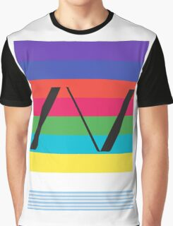 Alva Noto Horizontal Title Graphic T-Shirt