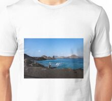 Pelican on Bartolome Island, Galapagos Unisex T-Shirt