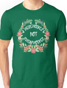 Werewolves Not Swearwolves Unisex T-Shirt