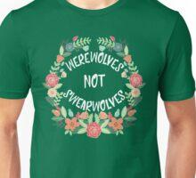 Werewolves Not Swearwolves Unisex T-Shirt