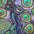 Proud Peacock by Lynnette Shelley