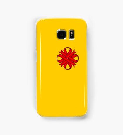 Red Clover Ribbon Samsung Galaxy Case/Skin
