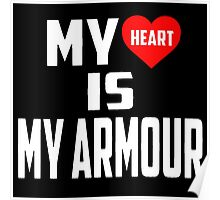 Twenty One Pilots - My Heart Is My Armour Poster