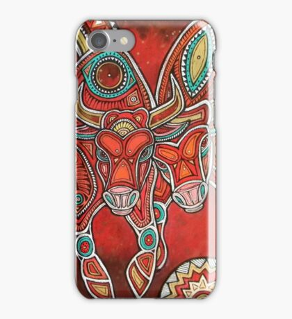 Two Bulls  iPhone Case/Skin