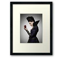 Regina Mills - Promotional Poster Framed Print