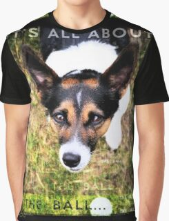 Terrier Obsession: It's All About The Ball Graphic T-Shirt