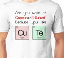 """Elements - """"You Are Cute"""" Unisex T-Shirt"""