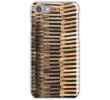 Stacked Lumber iPhone Case/Skin