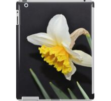 Lovely White and Yellow Daffodil iPad Case/Skin