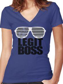 Sasha Savage Women's Fitted V-Neck T-Shirt