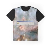 Error: God Not Found-WR 25 and Tr16-244 Graphic T-Shirt