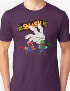 Super Smash Bros Mario and Luigi Unisex T-Shirt