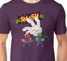 Super Smash Bros Mario and Luigi Unisex T-Shirt