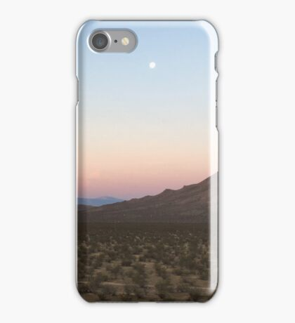 Desert Sunrise iPhone Case/Skin