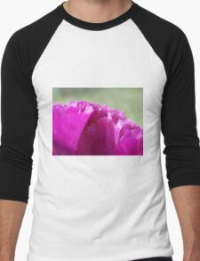 Carnation Petals   Men's Baseball ¾ T-Shirt
